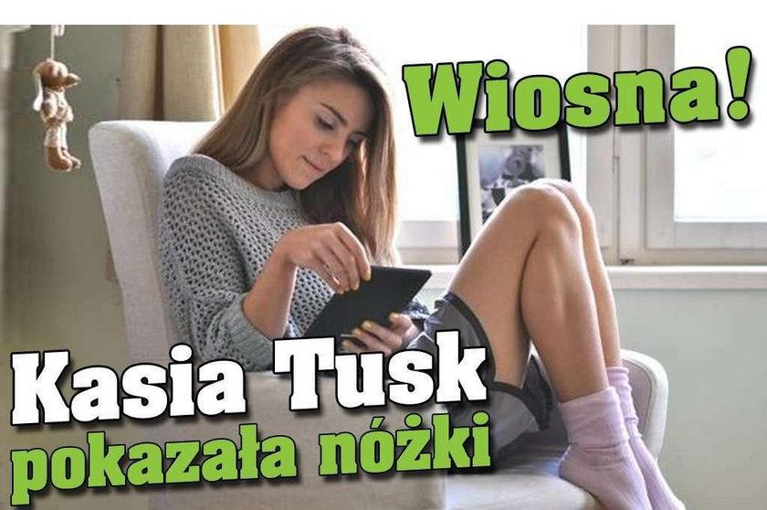 Wiosna! Kasia Tusk pokazała nóżki