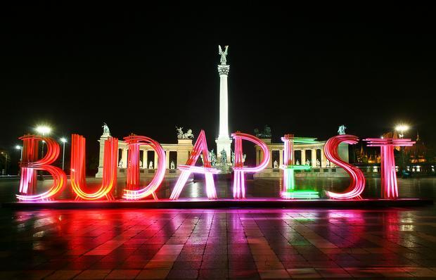 Plac Bohaterów, Budapeszt
