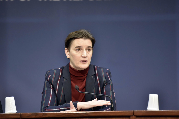Vlada Srbije, Ana Brnabić