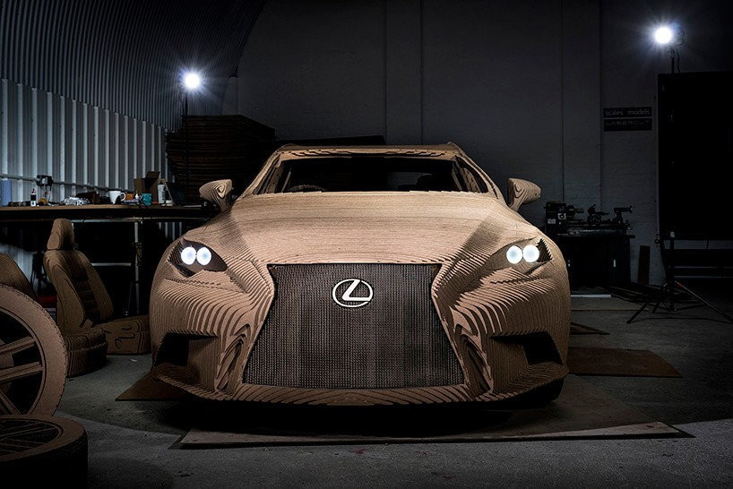Lexus IS Origami