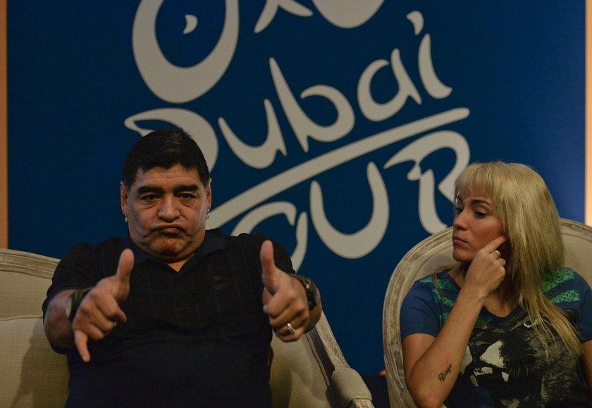 Diego Maradona pobił Rocio Olivę? Najpierw baraszkowali, a potem...