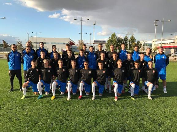 Kadetslja fudbalska reprezentacija Srbije