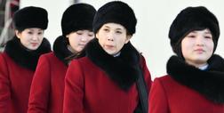 """""""Armia piękna"""" wylądowała w Pjongczangu. Północnnokoreańskie cheerleaderki będą zagrzewać do walki"""