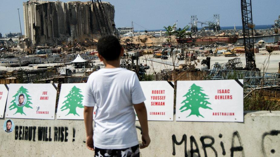 Okolice portu w Bejrucie