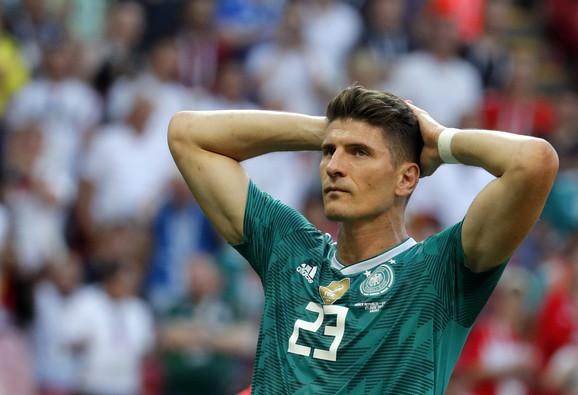 Tuga Marija Gomeza posle eliminacije sa Svetskog prvenstva