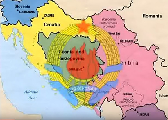 Veličina zemlje je jedan od glavnih razloga zašto bi Srbi voleli da žive u SFRJ