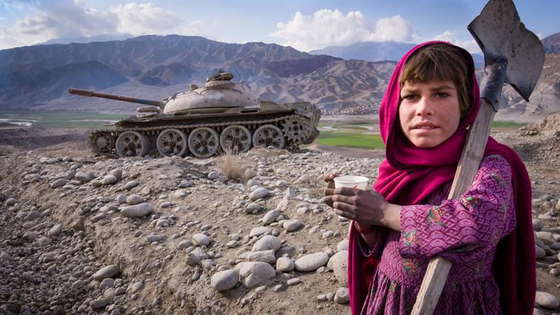 Afganistan. Czołg