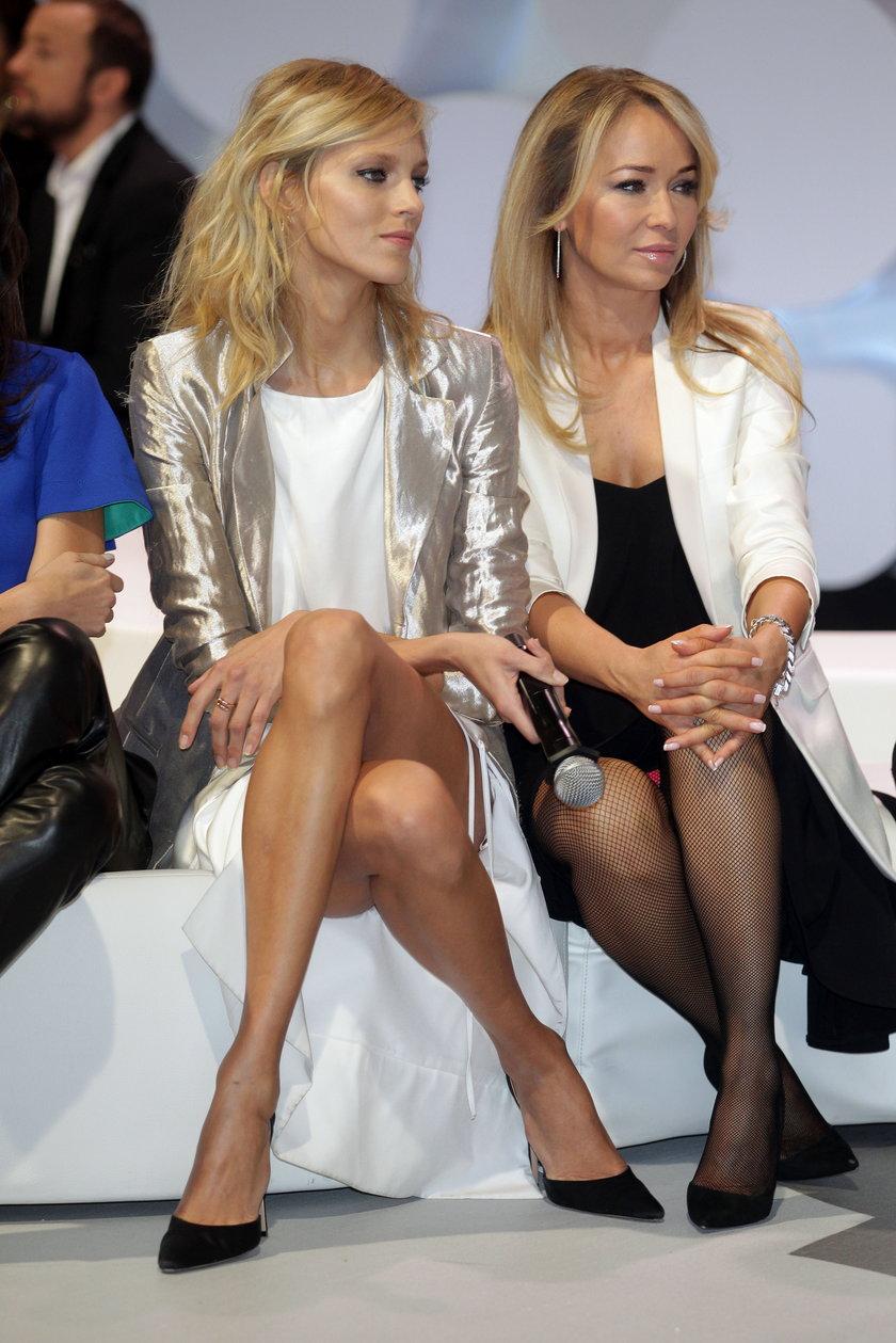 Anja Rubik i Joanna Przetakiewicz