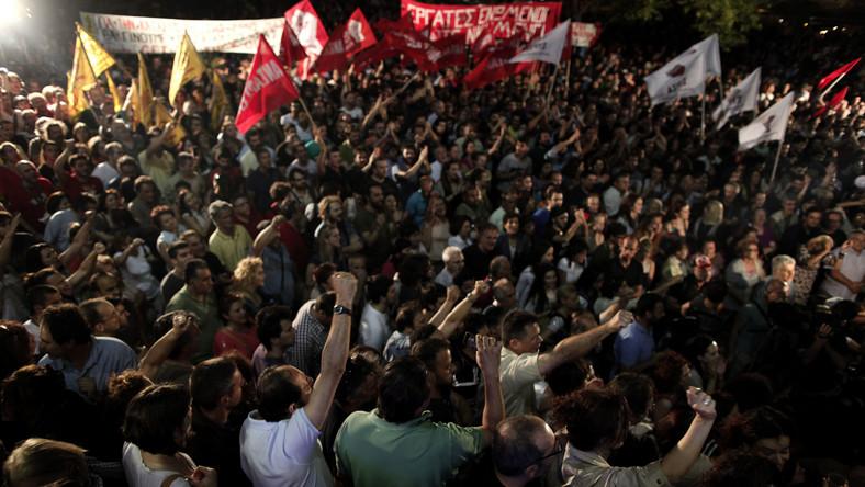 Bunt tysięcy dziennikarzy w Grecji