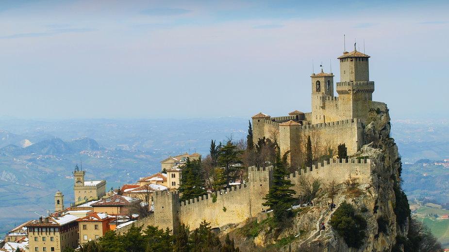 San Marino widok