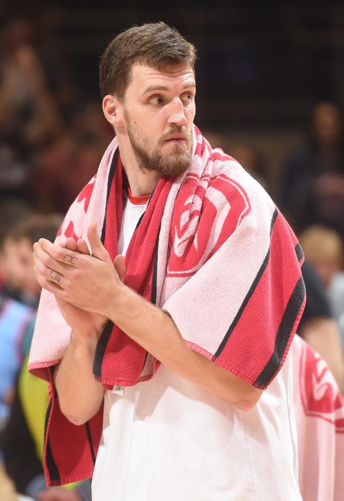 Ognjen Kuzmić na večerašnjoj utakmici