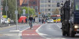 Rowerzyści już jeżdżą nową ścieżką