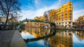 Sprzątanie kanału Saint Martin w Paryżu - spuścili wodę, wyciągnęli ryby i... rowery
