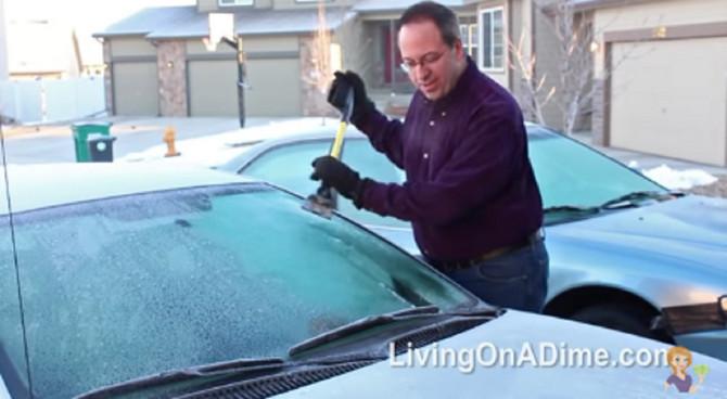 Uz trik čišćenje zamrznutih stakala nikad lakše