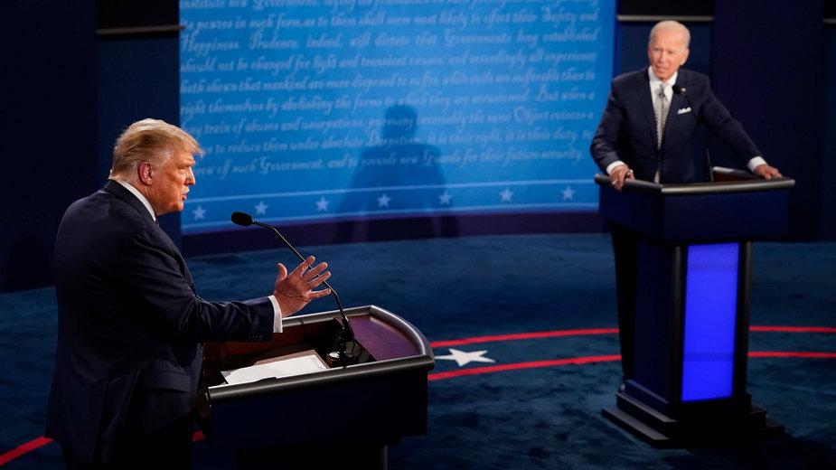 Pierwsza debata Trump-Biden