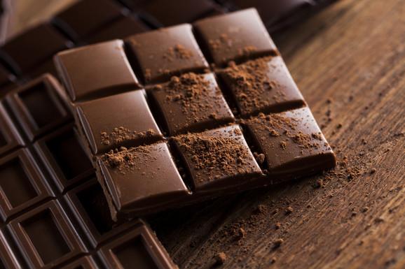 Ukupna potrošnja čokolade u Srbiji je 35.851 tona