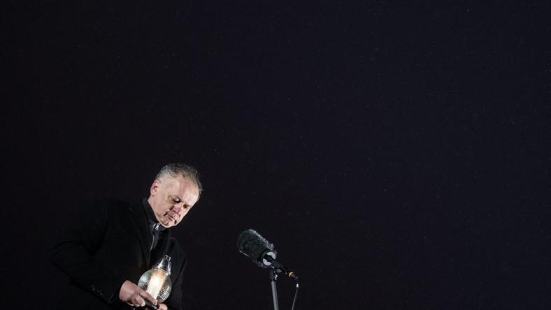 Prezydent Słowacji Andrej Kiska