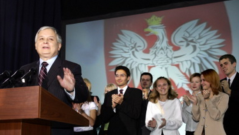POLAND-VOTE-KACZYNSKI-SUPPORTERS