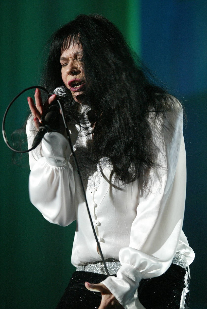 Karin Stanek na scenie