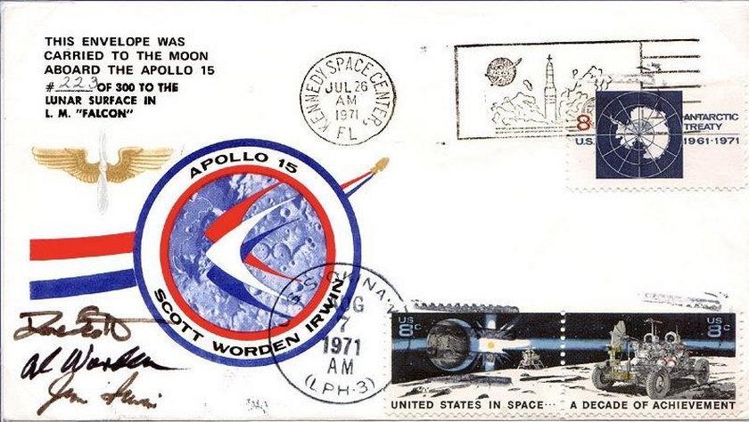 Astronauta Al Worden przyjechał do Polski
