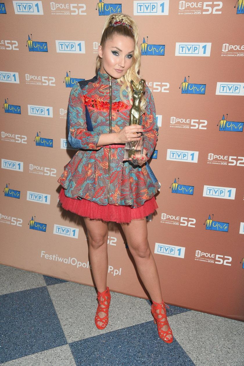 Cleo z nagrodą na festiwalu w Opolu