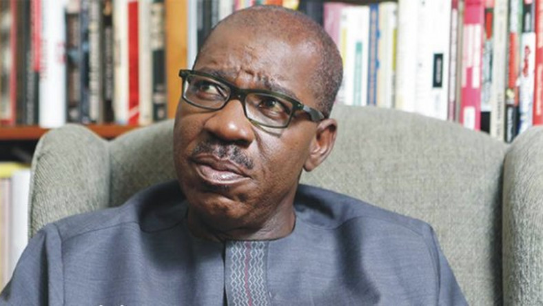 Governor Godwin Obaseki of Edo state may have to join another party to seek a reelection. (Punch)