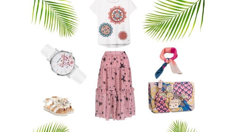 Moda pod palmami.