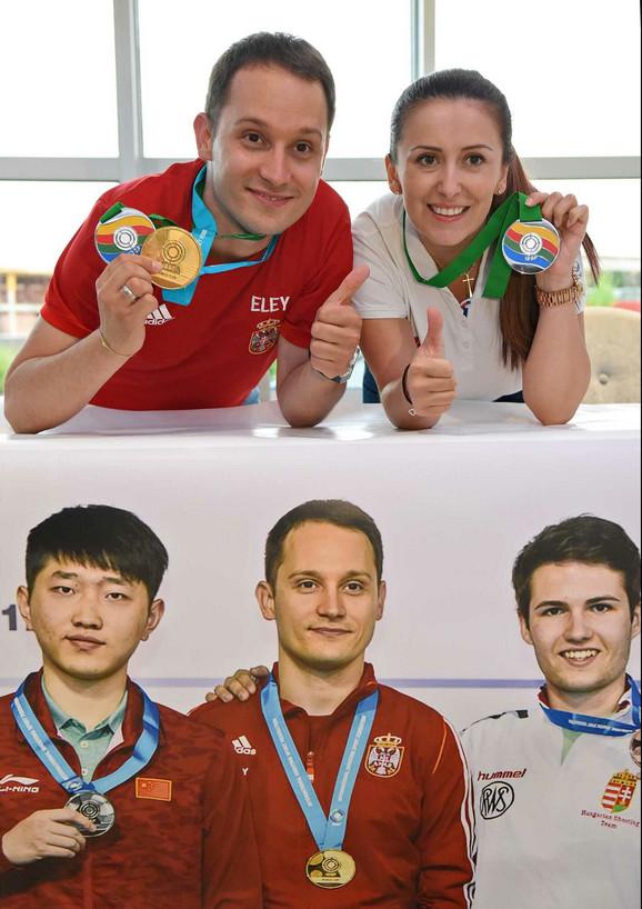 Nastavili sa uspesima - Milutin Stefanović i Andrea Arsović
