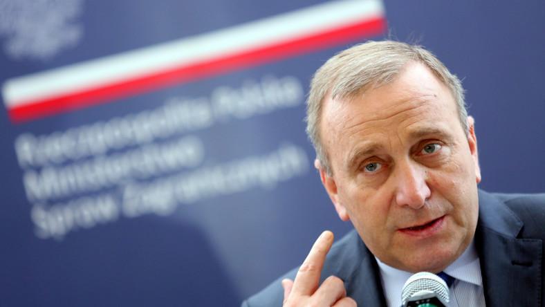 Minister spraw zagranicznych RP Grzegorz Schetyna