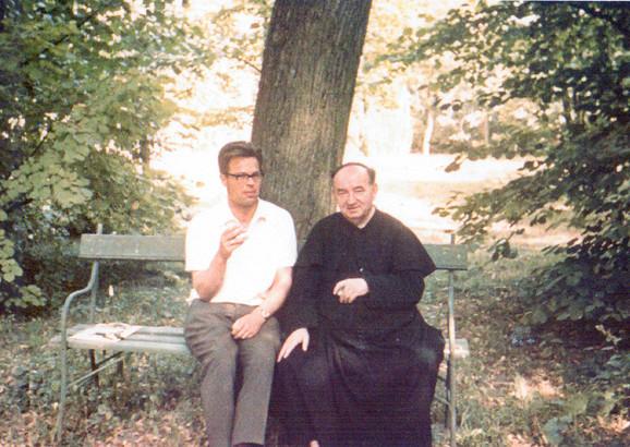 Adam Berenc (desno) posle rata