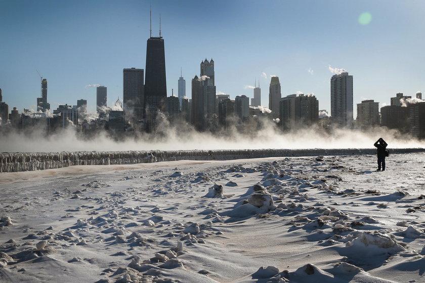 Ekstremalna zima w USA