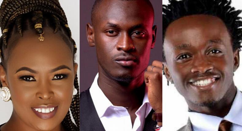 Kenyans roast Bahati, Caroline Mutoko over King Kaka's 'Wajinga Nyinyi' as calls for Revolution Now dominate Twitter