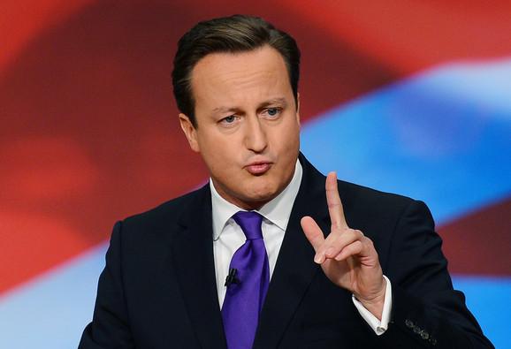 Dejvid Kameron, britanski premijer