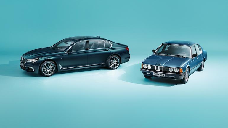 BMW 7 edycja 40 Jahre