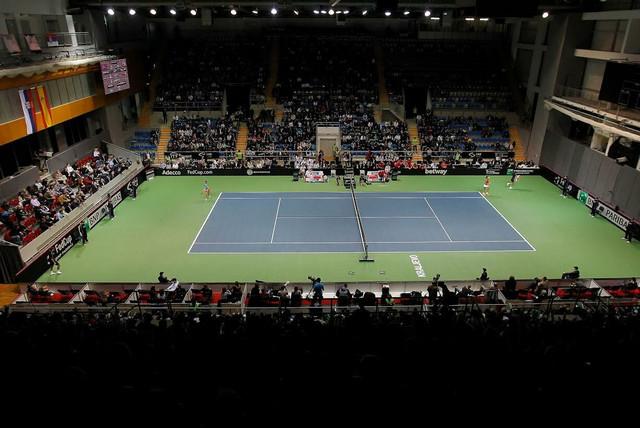 Kraljevo: Susret teniserki Srbije i Španije