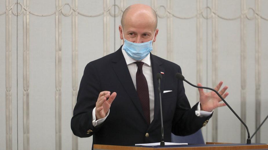 Bartłomiej Wróblewski w Senacie
