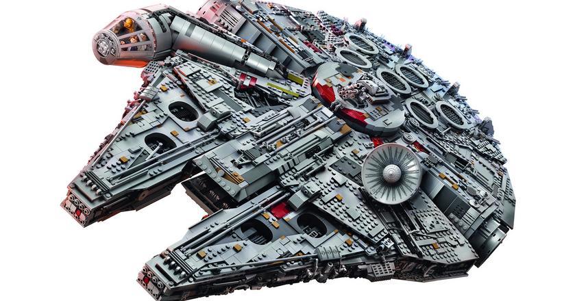 Nowy Sokół Millenium to największy do tej pory zestaw LEGO