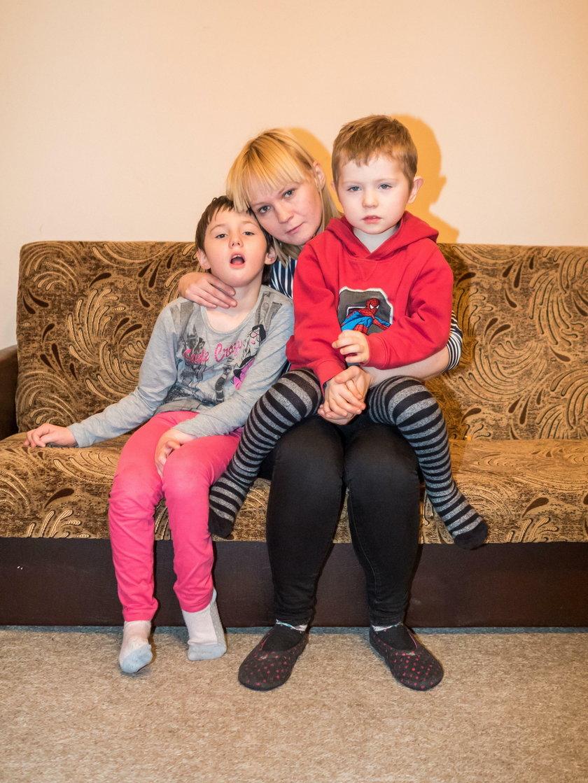 Samotna matka walczy o godne życie dla swoich dzieci