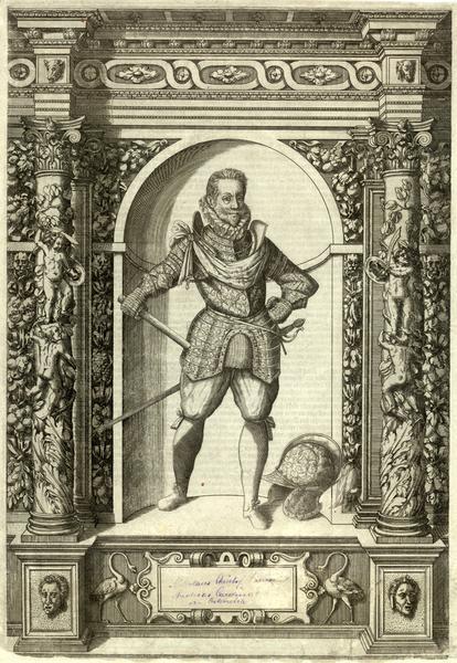 Mikołaj Krzysztof Radziwiłł, grafika, Giovanni Battista Fontana, 1601