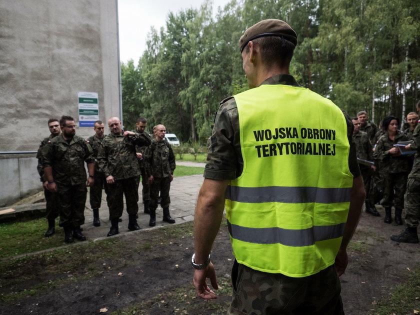 Wojska Obrony Terytorialnej szkolą się w Zgierzu