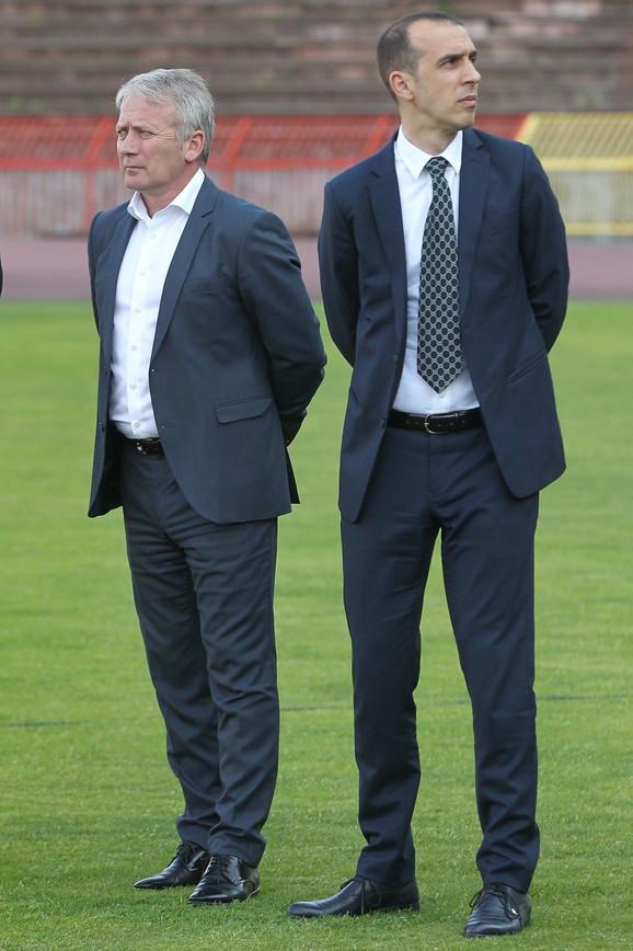 Vladimir Bulatović i Goran Bunjevčević