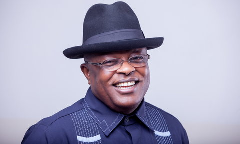 Dave Umahi has been re-elected for a second term as Ebonyi State governor