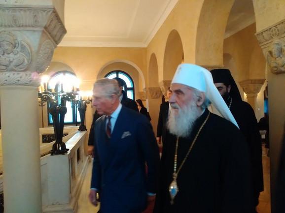 Princ Čarls i patrijarh Irinej