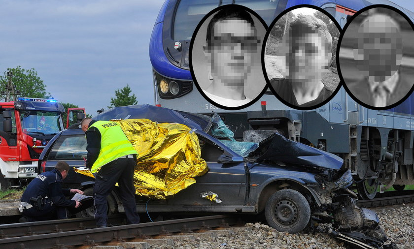 Tragedia na przejeździe kolejowym w Martianach. Zginęły trzy osoby