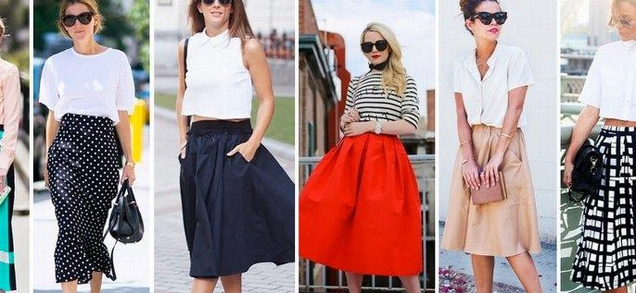 7ff1a94e87385 60 pomysów na spódnice midi. Jak nosić najmodniejszą długość sezonu?