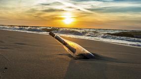 Znaleziono rekordowo stary list w butelce wrzuconej do morza - ma 107 lat