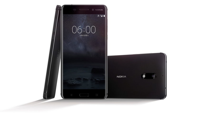 A new Nokia 6 smartphone is seen in this handout image
