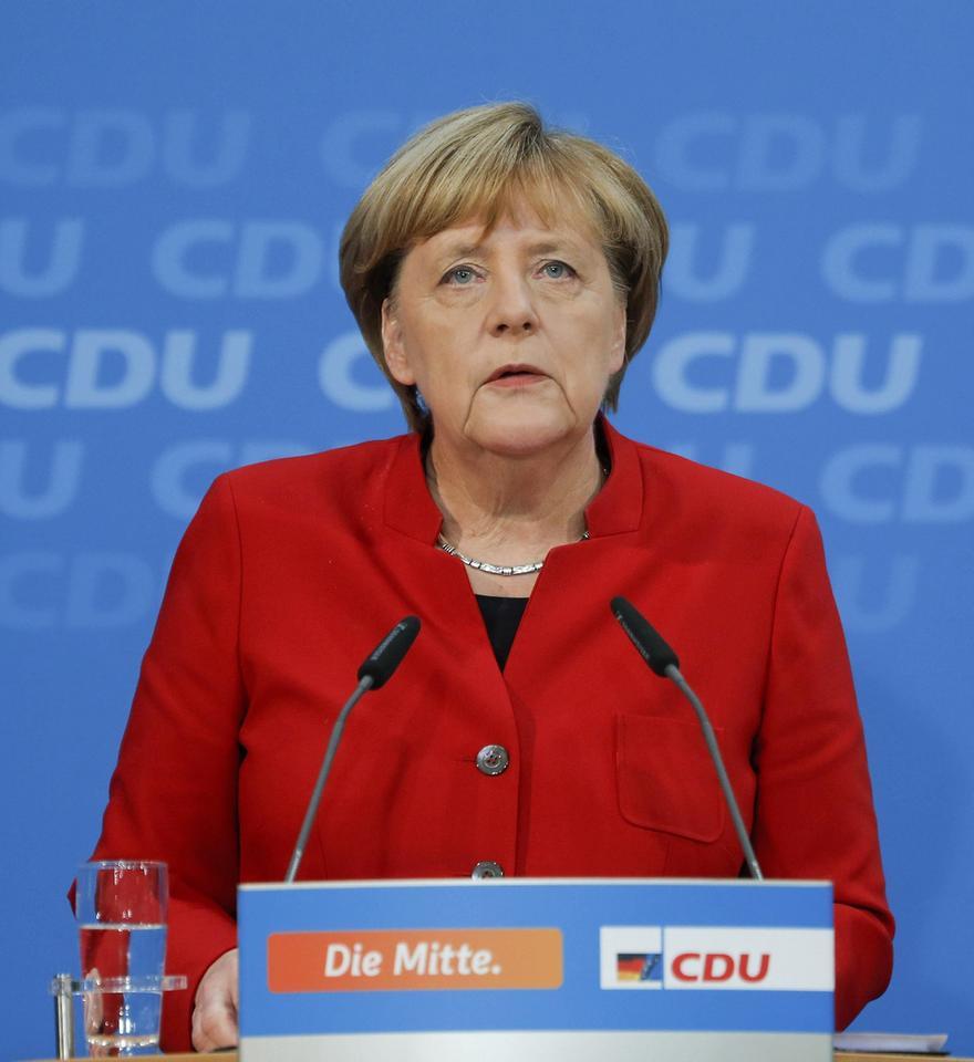Polka dublerką Angeli Merkel