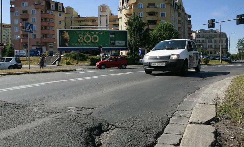 Te dziury znikną z Zaporskiej!