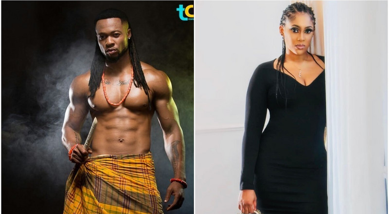 Someone close to Flavour claims singer has gotten married to his first baby mama Sandra Okagbue